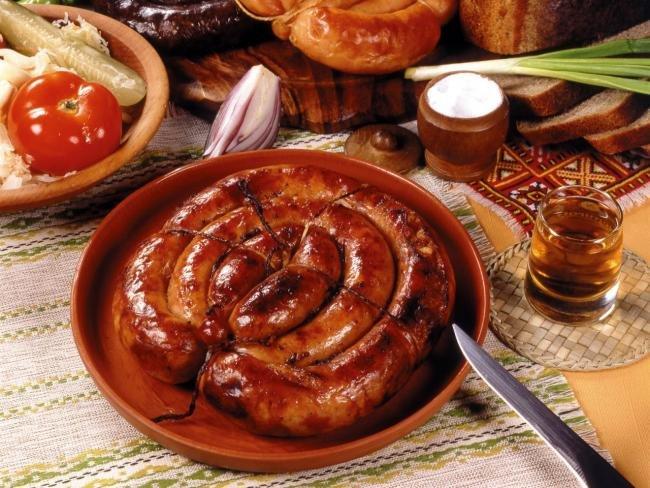 Рецепты украинской колбасы в домашних условиях