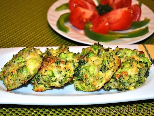 Котлеты из капусты брокколиы