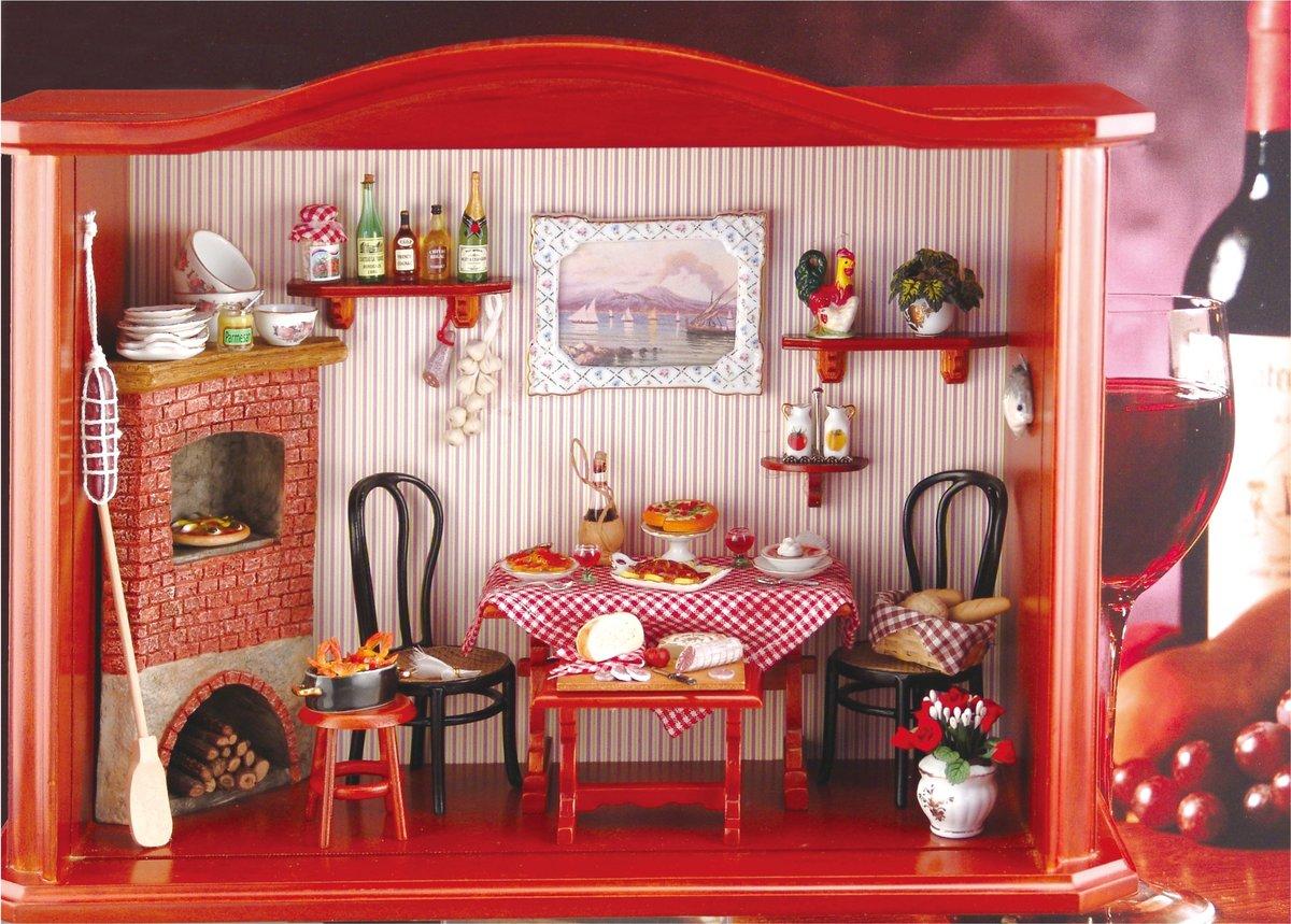 Кукольный домик для интерьера