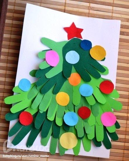 Новогодние поделки своими руками для детей из