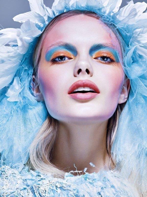 Зимняя коллекция в макияже