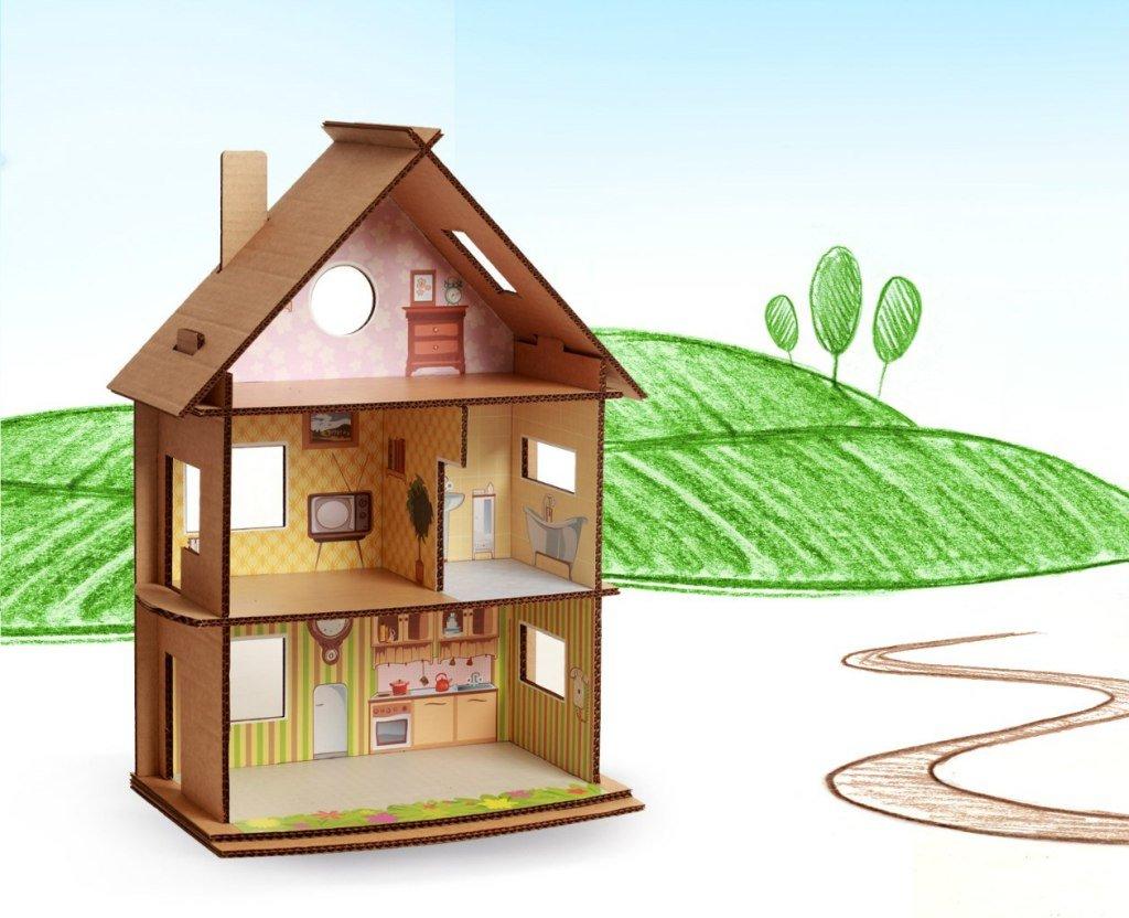 Кукольный домик из фанеры своими 62