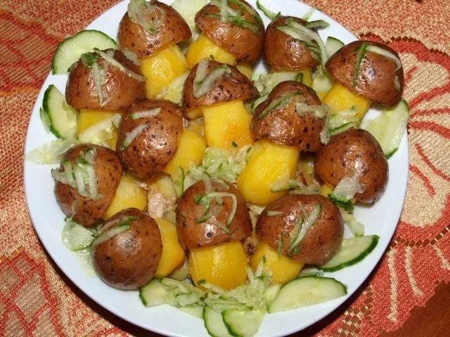 Вторые блюда из картофеля вкусно и простоы