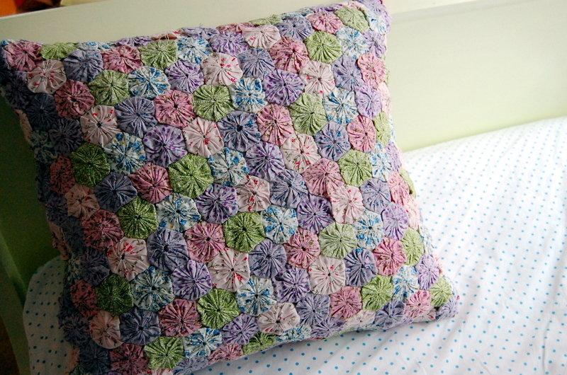 Декоративные подушки в стиле пэчворк 69