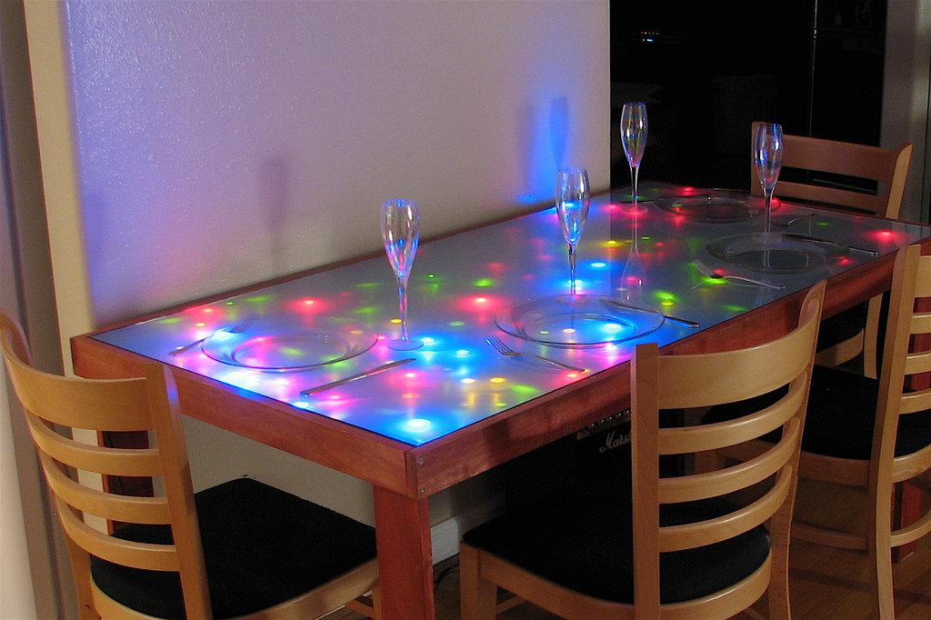 Сделать своими руками стеклянный стол 607