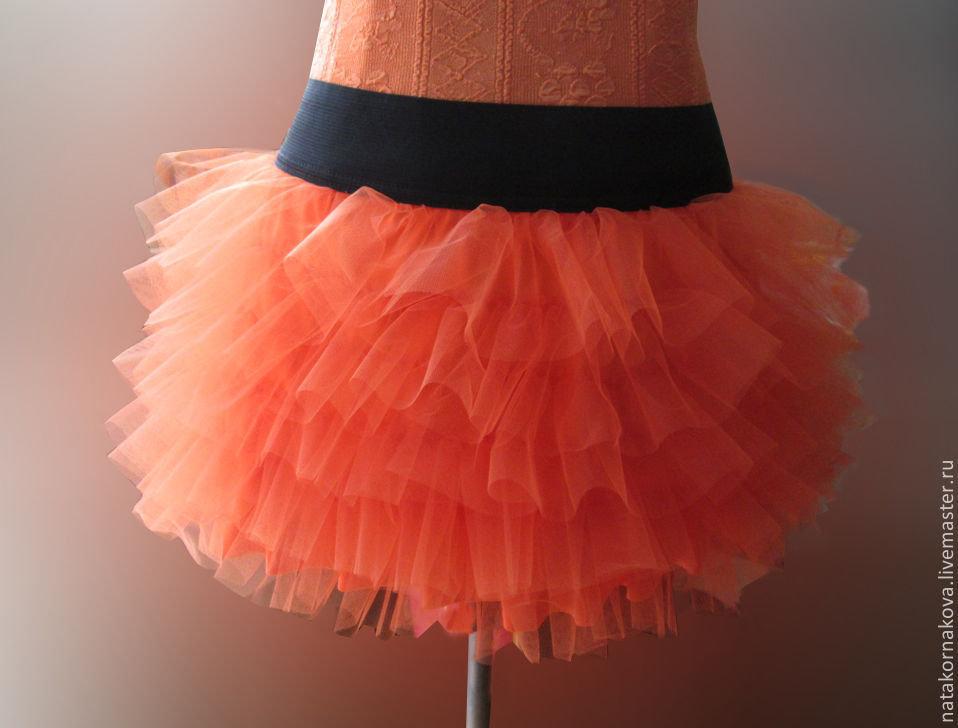 Как сшить фатиновую юбку фото 14