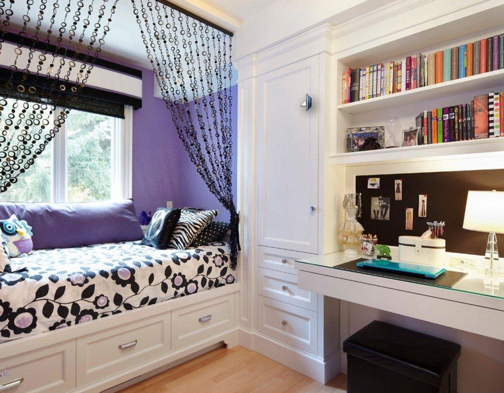 Как сделать маленькую комнату уютной для подростка