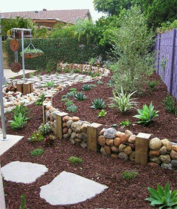 Дизайн для сада своими руками фото 73