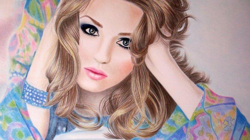 Фото красивых девушек как рисовать