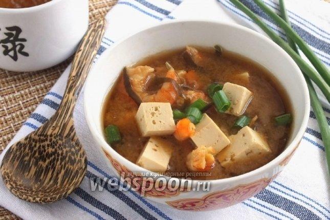 Мисо суп рецепт пошагово с в
