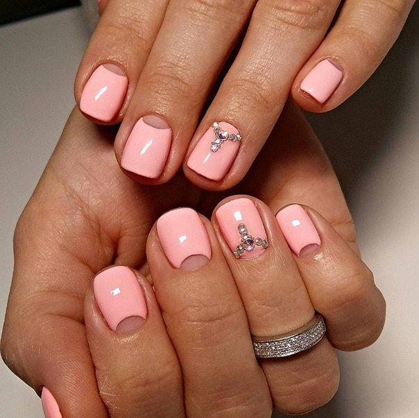 Фото ногтей гель лак 2017-2018 на короткие ногти