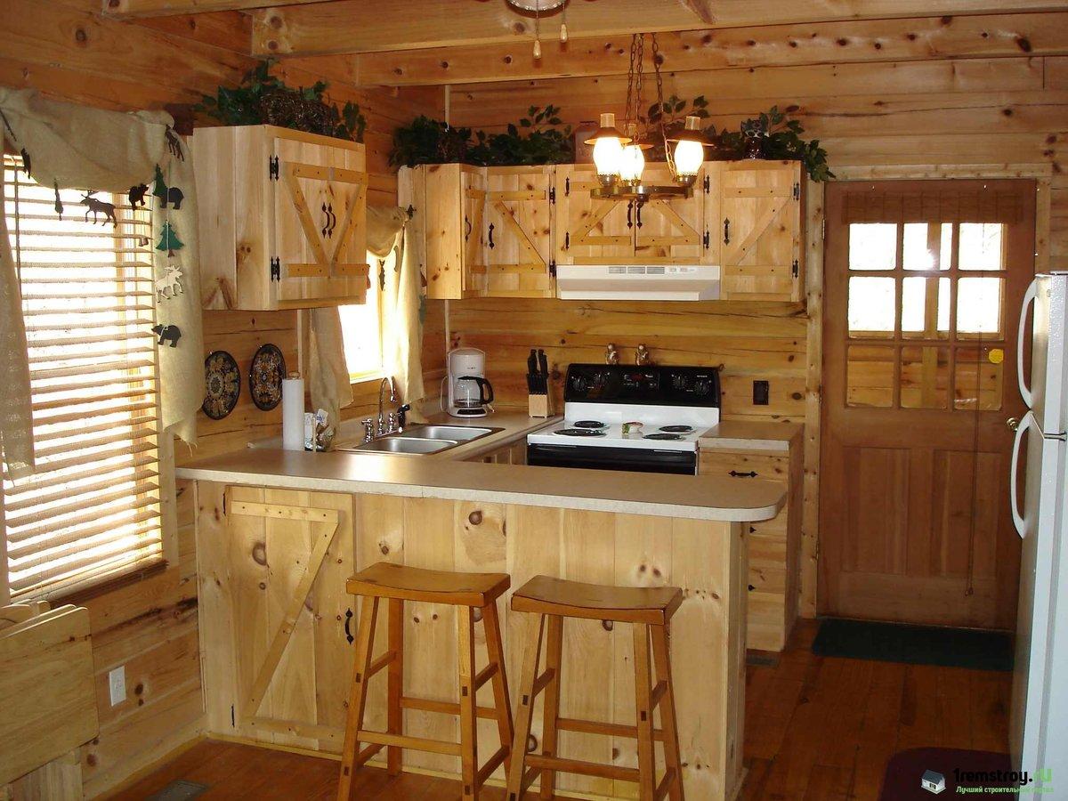 Отделка кухни в частном доме: подходящий дизайн и материалы 36