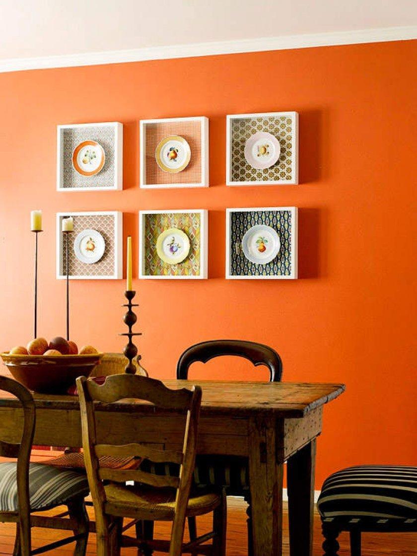 Картины в интерьере кухни своими руками