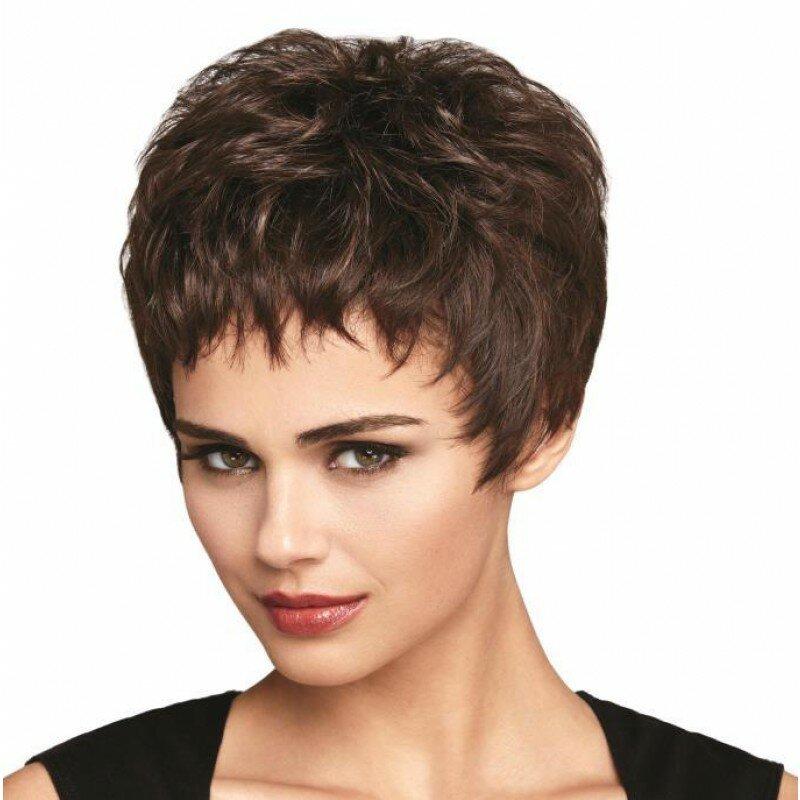 Короткая стрижка женская для тонких волос вид
