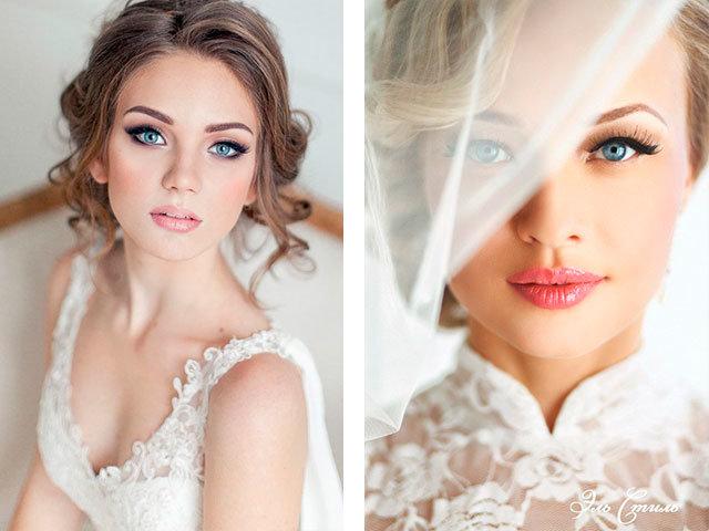 Свадебный макияж для глаз своими руками