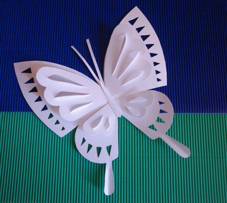 Поделки своими руками бабочка 4