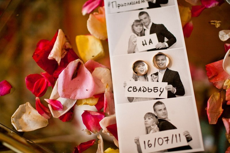 Свадебного приглашения своими руками