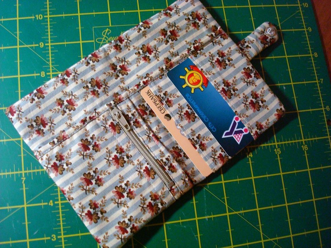 Бумажник из ткани своими руками 36