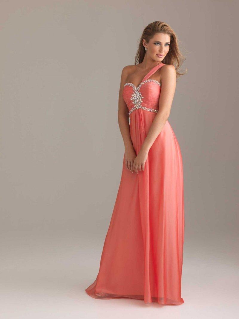 Платье для коралловой свадьбы