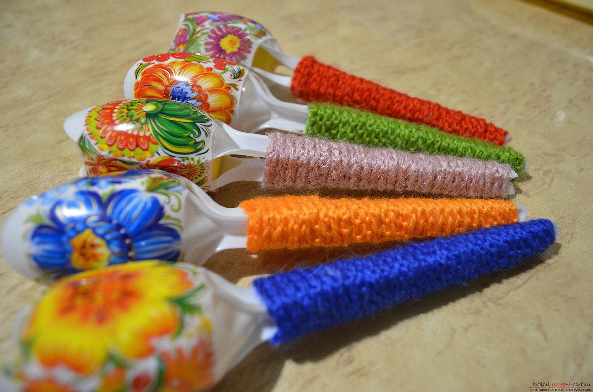 Игрушки в детский сад своими руками из подручных материалов