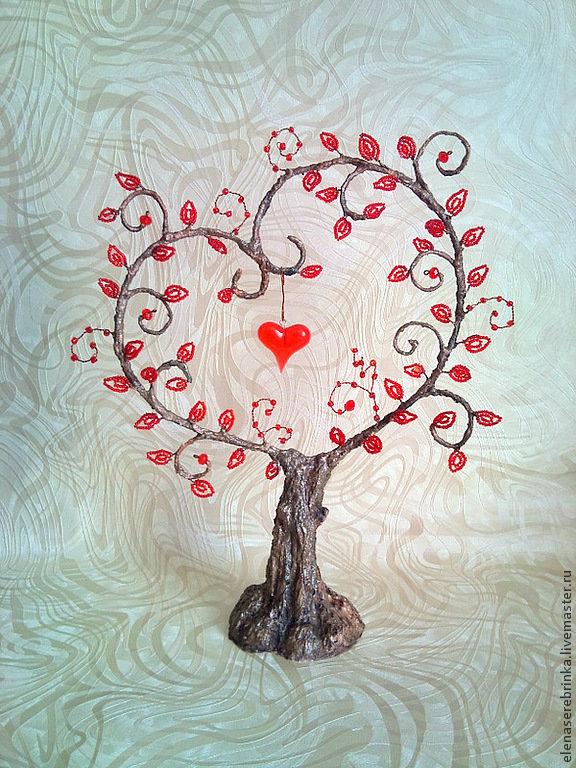 Дерево счастье своими руками сердце