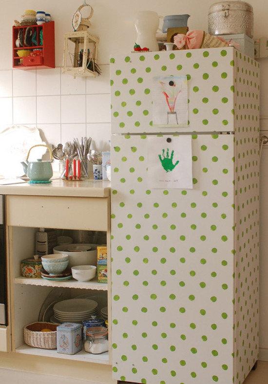 Как декорировать старый холодильник своими руками