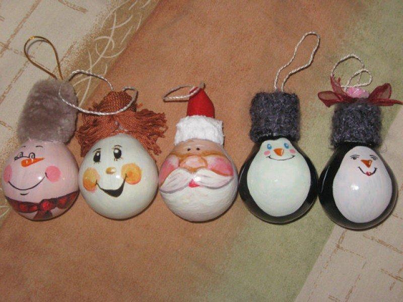 Новогодние игрушки своими руками новый год