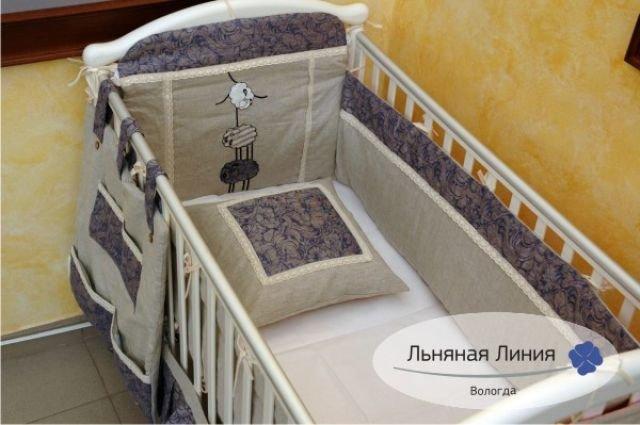 Постельное для новорожденного сшить
