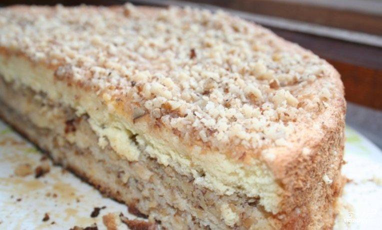 Торт бисквитный рецепт со сгущенкой в домашних  317