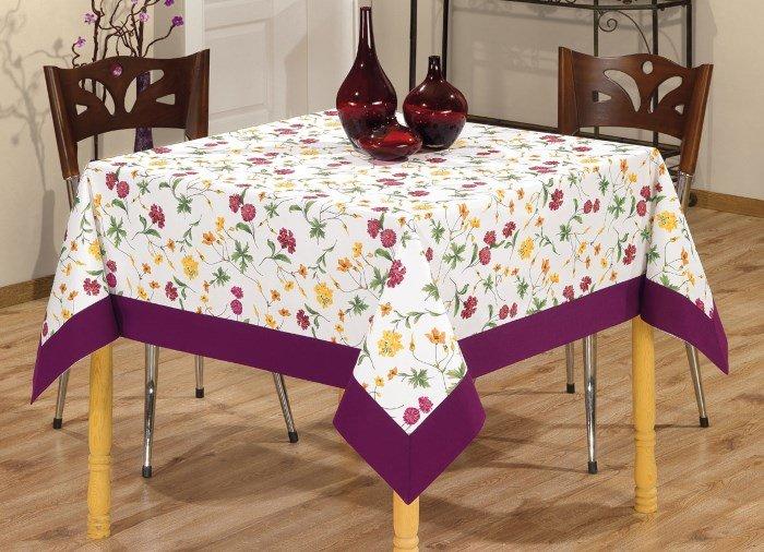 Скатерть для прямоугольного стола своими руками 82