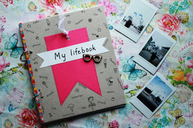 Дневник блокнот своими руками