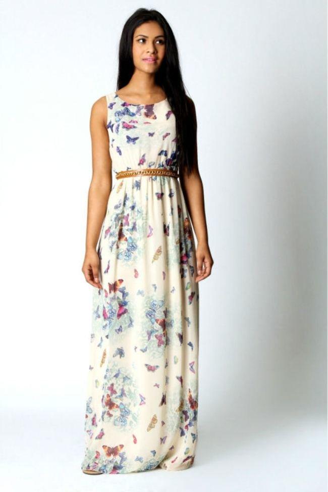 Как сшить платье в пол летнее своими руками 260
