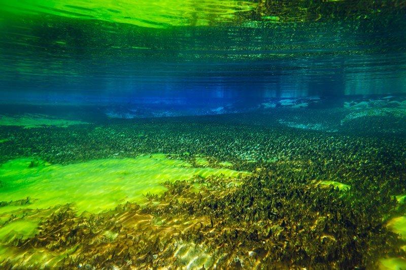 Самые прозрачные озера в мире
