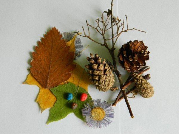 Осенние поделки с шишками своими руками 83