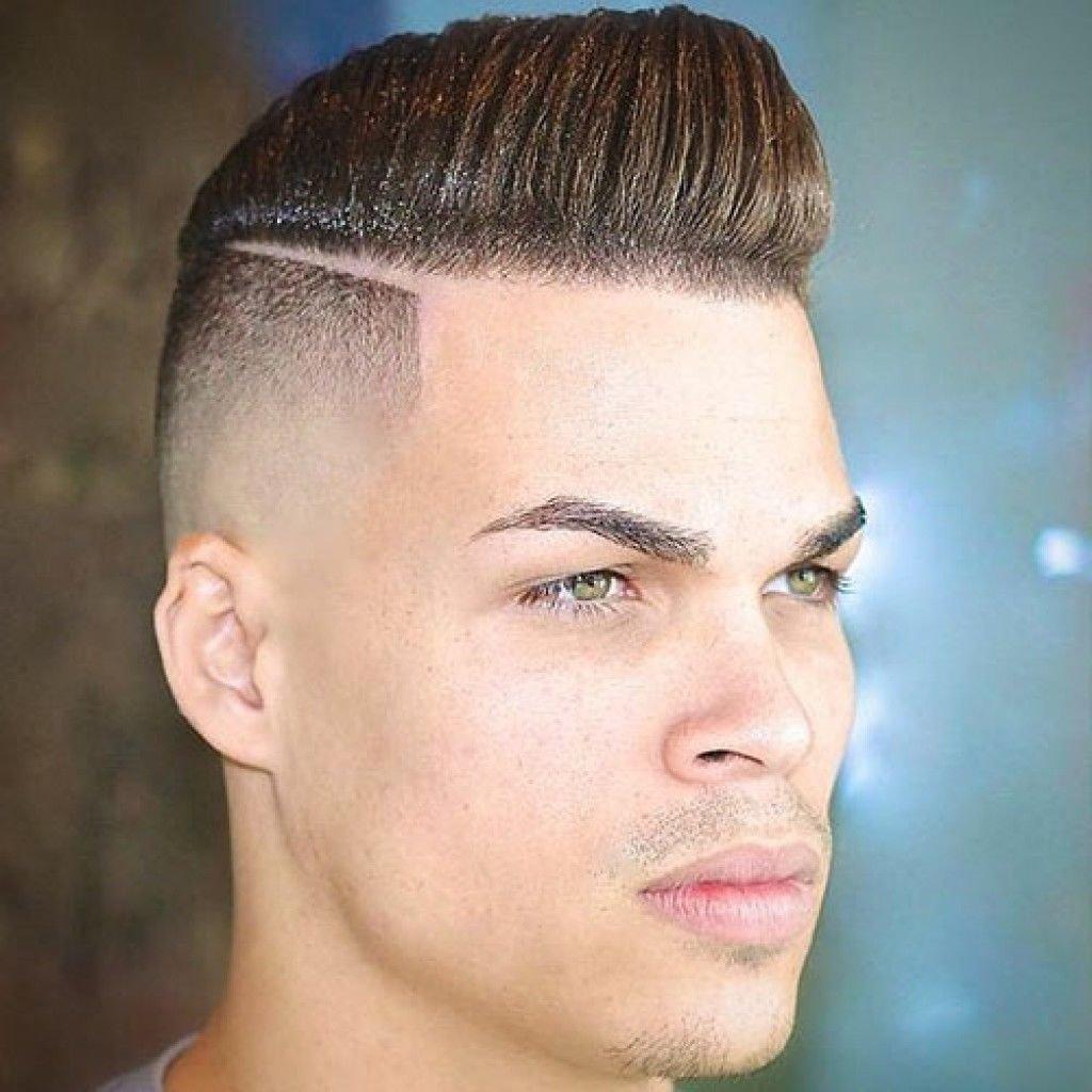 Мужские прически с выбритыми боками короткие волосы