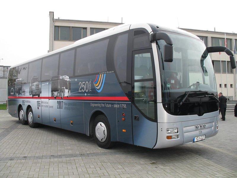 Челябинск, автобус man r07 lions coach 3050