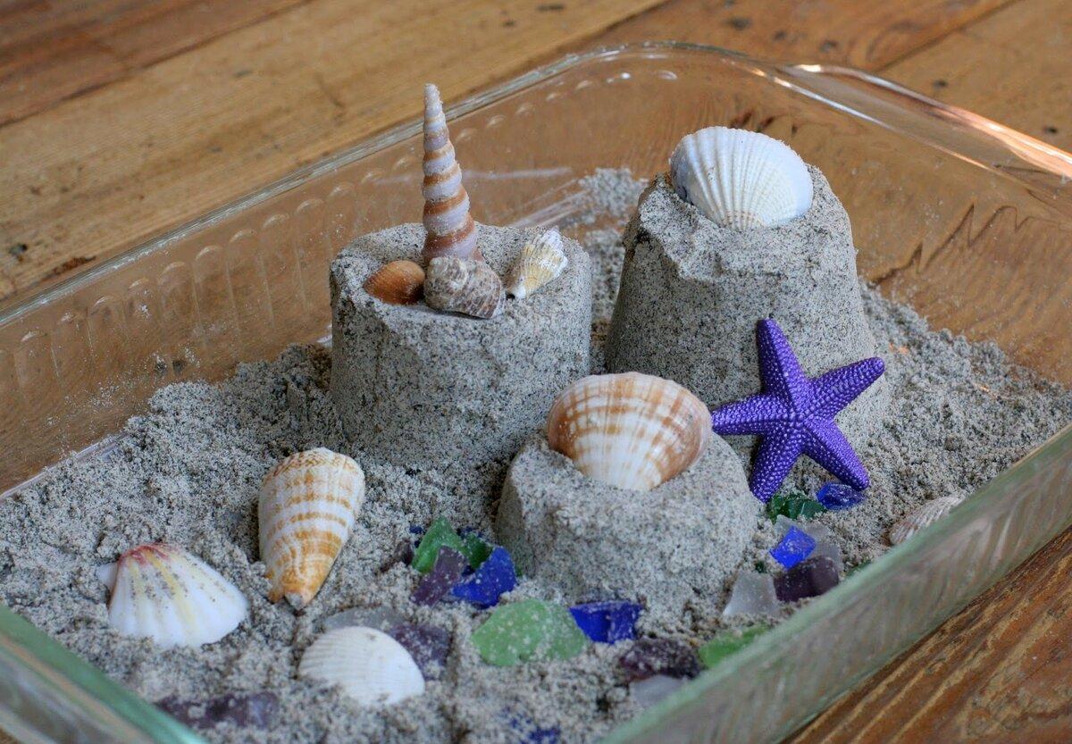 Поделки из кинетического песка фото