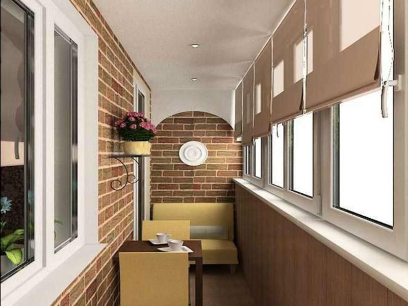 Ремонт балкона и лоджии фото своими руками 88