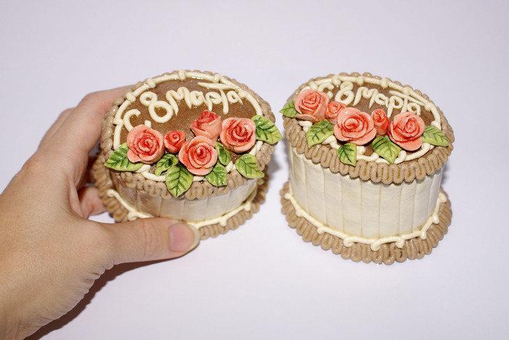 Пирожное из соленого теста своими руками мастер класс 92