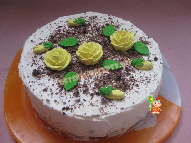 Рецепты с фото торты детские