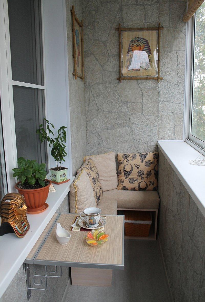Ремонт балкона фото в хрущевке