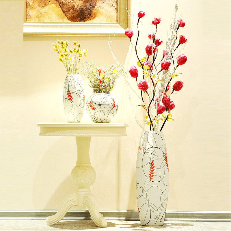 Декоративные цветы своими руками в высокую вазу 77
