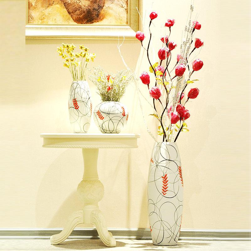 Декорирование напольной вазы