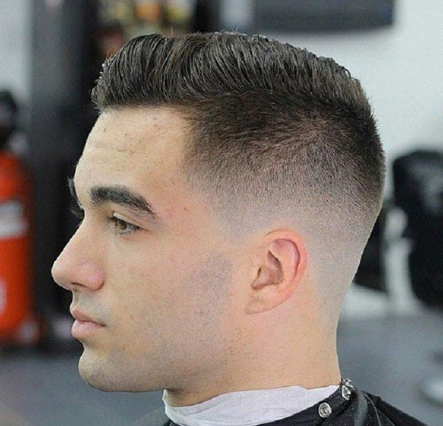 Прическа волос мужской