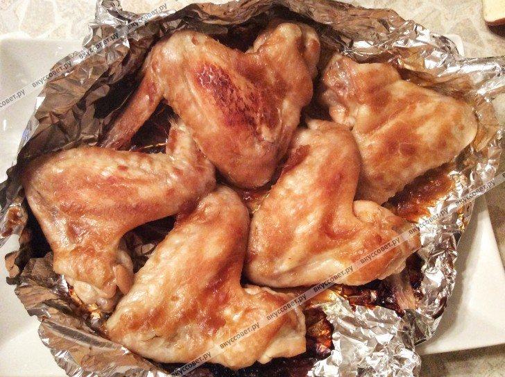 Что приготовить из куриных крылышек пошаговый рецепт с