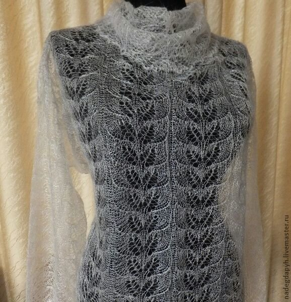 Паутинка вязание жилетка 48