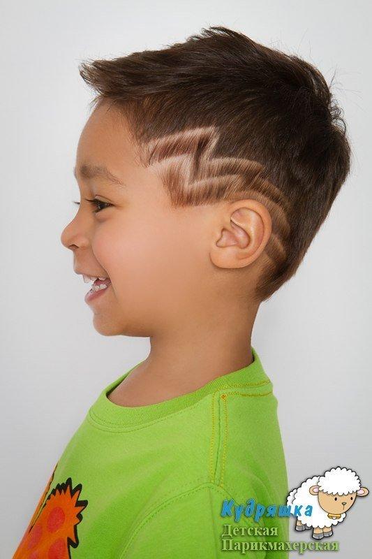 Детские прически для мальчиков с ирокезом
