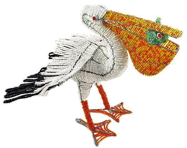 Поделки пеликан