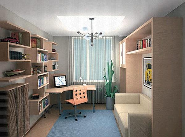 Комната для школьника дизайна