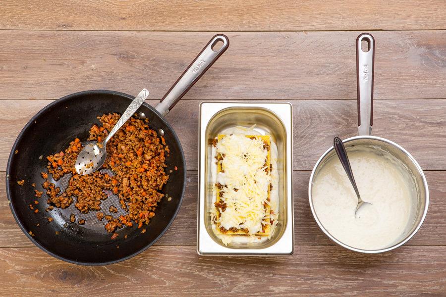 Соус для лазаньи бешамель пошаговый рецепт с